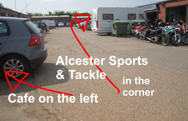 Finding Alcester Sports and Tackle